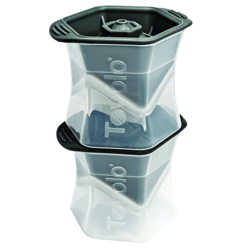 Tovolo Colossal Cube Ice Mold - Set of 2 (Pitcher Glass Cardinals)