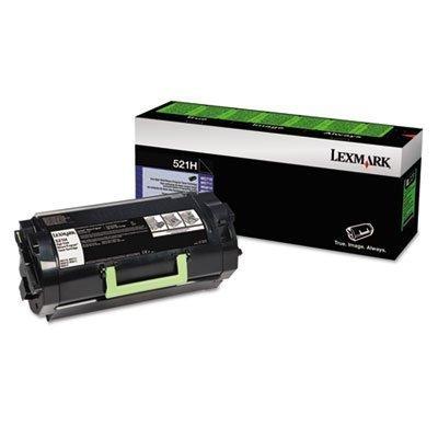 MyDirectAdvantage Lexmark 52D1H00 (LEX-521H) High-Yield Toner, Black
