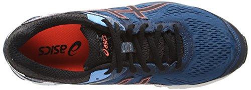 Asics - Gt-1000 4, Scarpe Da Corsa da uomo Blu (Mosaic Blue/Black/Flash Coral 5390)