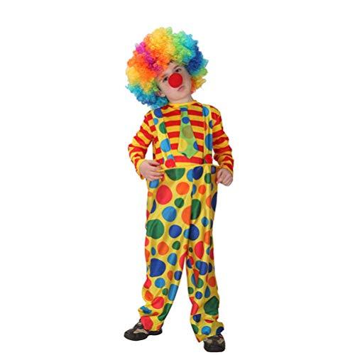 Toddler Scary Clown Costumes - BESTOYARD Kids Rainbow Clown Costume Christmas