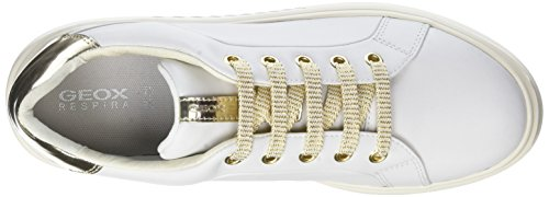 37 Blanc Geox Basses Femme Nhenbus A Sneakers Eu white Wei 4Yxf6