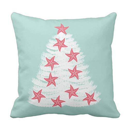 CELYCASY - Funda de cojín Decorativa con diseño de Estrella ...
