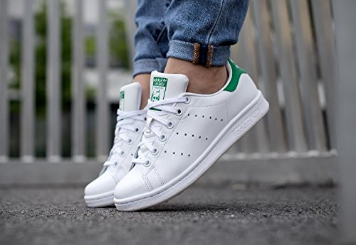 Blanc Smith Adidas Basses Stan Baskets Adulte Vert Mixte Et Rn4xfY