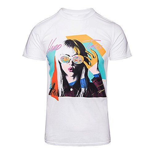 Paramore Unisex-adult's Official Hayley Hard Times T Shirt - Large, -