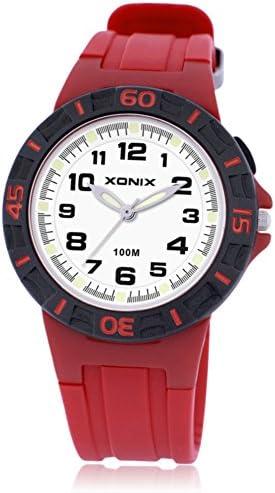 子供腕時計少年少女学生Luminous防水クォーツmovement-g