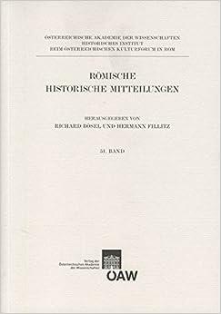 Romische Historische Mitteilungen Band 51/2009