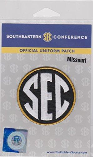 Missouri Tigers Sec Football Jersey Uniform Patch Ncaa College - Ncaa College Football Uniforms