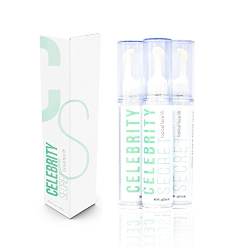 Instant Deep Wrinkle Filler - Celebrity Secret Topical Face Lift-Instant Face Lift Serum-Eye Lift-Tighten Skin-Face Lift-Face Cream-Wrinkle Filler-Winkle Creams-Younger, Healthier Complexion-Works in Minutes!(10ML)(1Bottle)