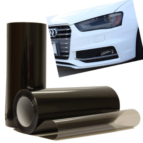 Smoke Black Light Headlight Taillight Tint Vinyl Film Cover Sheet - 12