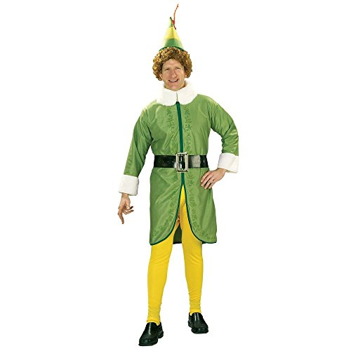 Rubies Costume Co R16894-XL Adult Buddy the Elf Costume Size (Buddy The Elf Costume)