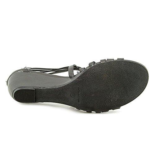 Scarpe Americane Di Stracci Hayle Open Toe Casual Sandali Con Il Cinturino Nero