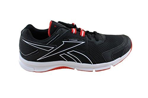 Reebok - Quickedge Run - Couleur: Blanc-Noir-Rouge - Pointure: 42.0