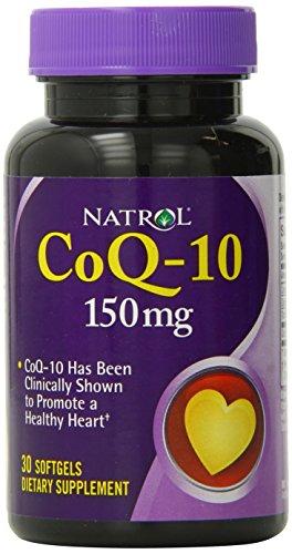 Natrol CoQ-10 150mg Softgels, 30 Count