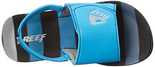 Reef Grom Ahi Slide - Sandalias Deportivas de material sintético niño azul - Bleu (Blue Horizons)