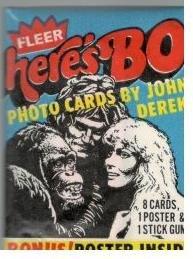 Here's Bo Trading Cards Wax Packs (Bo Derek)