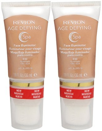 Amazon.com: Revlon Age Defying Spa Face Illuminator, Gold Light ...