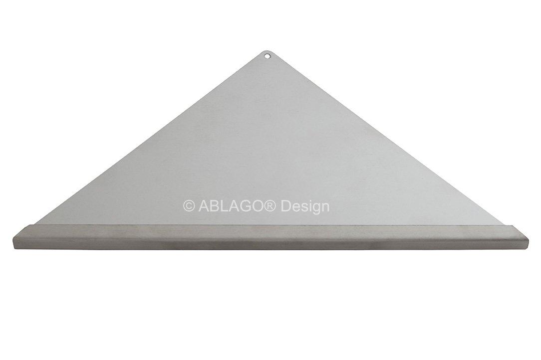 Befliesbare Duschablage Edelstahl V2A//F nachtr/äglich einbaubar Typ Q 220 Quado nachr/üstbar