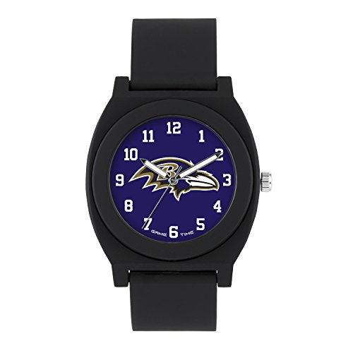 NFL Baltimore Ravens Mens Fan Series Wrist Watch, Black, One Size ()
