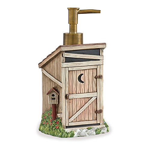 Outhouse Soap Dispenser