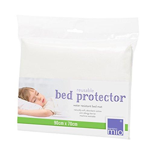 Bambino Mio Bed Protector, White by Bambino Mio
