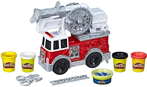 Play-Doh Wheels Firetruck Toy with 5 Non-Toxic Colors for sale  Delivered anywhere in USA