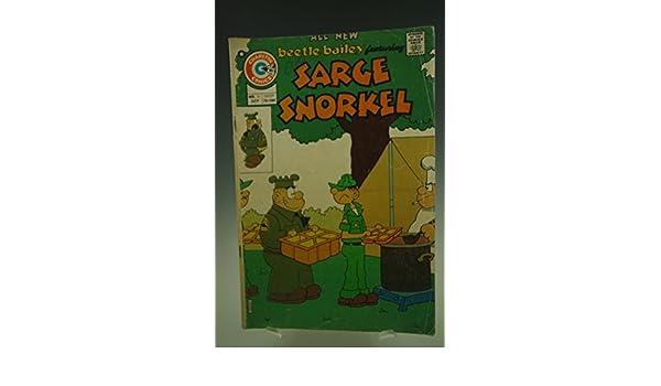 SARGE SNORKEL #10 CHARLTON COMIC BOOK 1975: LEE: Amazon.com ...