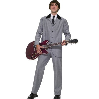 British Invasion Costumes (Forum Novelties Men's British Invasion Costume, Gray,)
