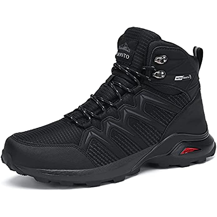 Dannto Men's Mid Hiking Boots Ankle Outdoor Lightweight Trekking Shoes