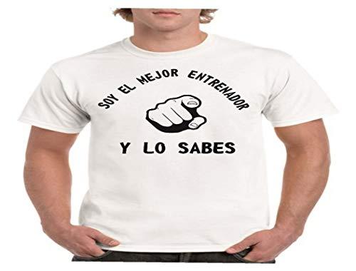 Camisetas divertidas Parent Mejor Entrenador y lo Sabes – para Hombre Camiseta