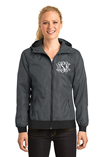 monogram rain coats for women - 5