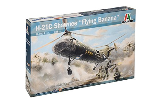 Italeri 2733S 1/48 H-21 Shawnee Flying Banana
