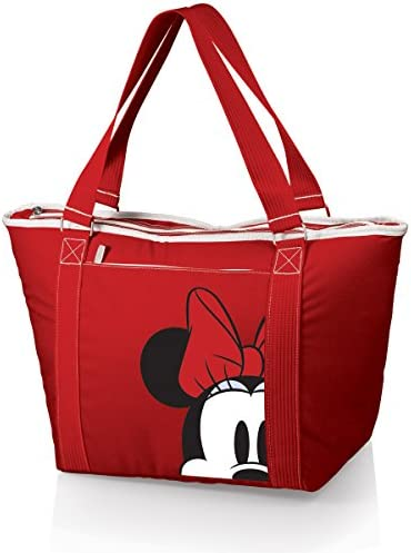 Disney Classics Mickey Minnie Mouse Topanga Insulated Cooler Bag, Minnie Mouse Red
