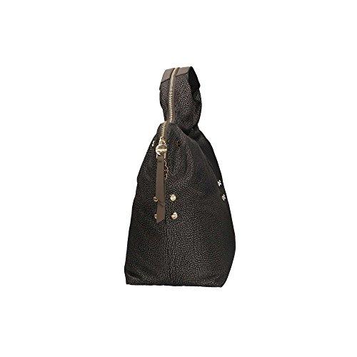 Borbonese 934235296 Bolso de mano Mujer GRIS