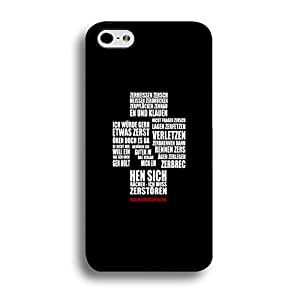 Special Hybrid Rammstein Phone Case Cover For Iphone 6/6s 4.7inch Rammstein Unique Design