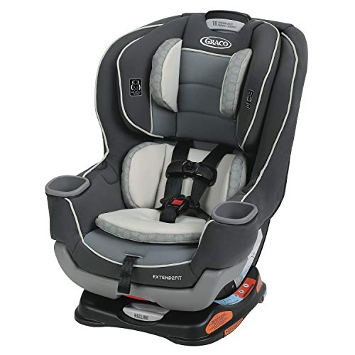 Review Graco Extend2Fit Convertible Car Seat | Ride Rear Facing Longer with Extend2Fit, Davis