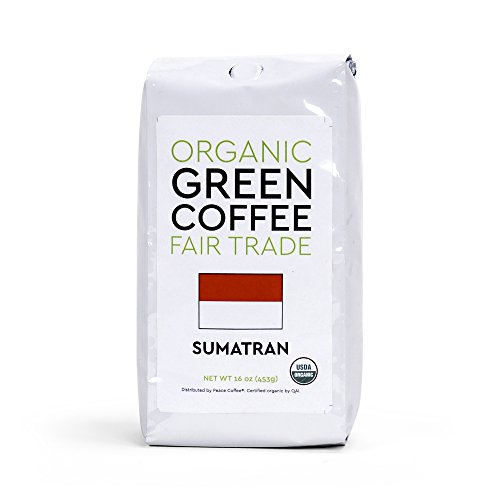 (Peace Coffee Fair Trade Certified Organic Green Unroasted Coffee Beans for Home Coffee Roasting (Sumatra Gayo Mountain Fair Trade Organic))