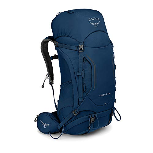 Osprey Kestrel 48 Men's Backpacking Backpack, Loch