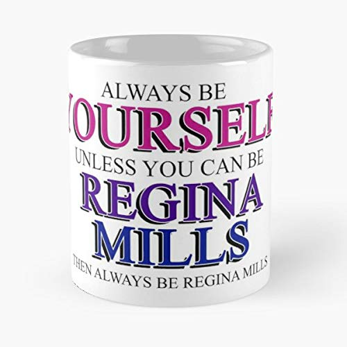 Regina Mills The Evil Queen Lana Parrilla Once Upon A Time - 11 Oz Coffee Mugs Unique Ceramic Novelty Cup, The Best Gift For -