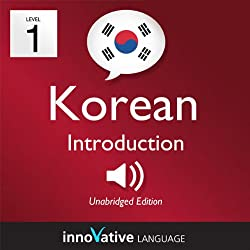 Learn Korean with Innovative Language's Proven Language System - Level 1: Introduction to Korean