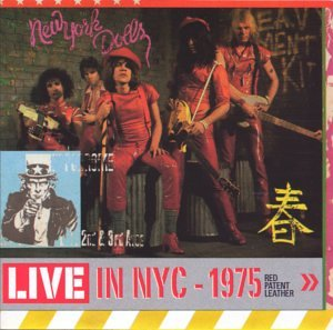 Red Patent Leather: Live in NYC 1975 by Castle Us