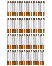 BESPORTBLE 60 Stks Simulatie Nep Sigaretten Levensechte Kunstmatige Bladerdeeg Sigaren Nep Bladerdeeg Sigaretten Draagbare Grappige Prank Props Feestartikelen