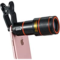 Cell Phone Camera Lens Kit, 12X Optical Zoom Universal...
