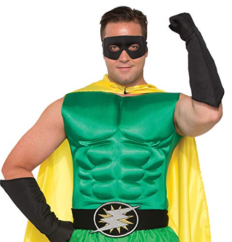 Forum Novelties Adult's Green Superhero Or Villain Muscle Chest Padded Shirt Costume Accessory -