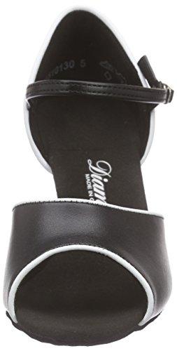 Diamant 153-058-027 - Zapatos de baile, Mehrfarbig (Schwarz/Weiß), 33 2/3 EU (1 1/2 UK)