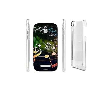 FUNDA CARCASA MUSIC CIRCLE PARA HTC DESIRE 500