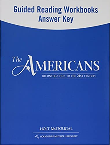 The americans guided reading and spanishenglish guided reading the americans guided reading and spanishenglish guided reading workbooks answer key reconstruction to the 21st century spanish edition spanish 1st fandeluxe