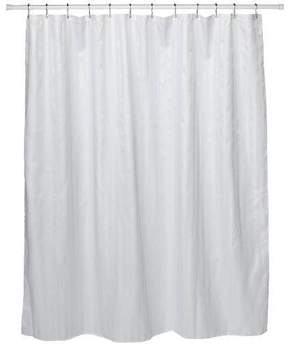 white shower curtain. Amazon.com: Croscill Fabric Shower Curtain Liner, 70-inch By 72-inch, White: Home \u0026 Kitchen White E