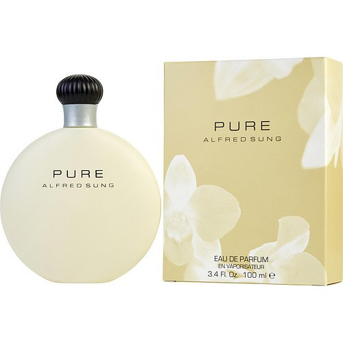 Alfred Sung Pure Eau de Parfum Spray for Women, 3.4 oz Abba Pure & Natural LEPAF049