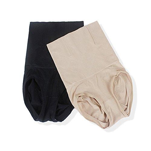 Fzmix Fashion Women Slim High Waist Hip Body Corset Control Abdomen Shaper Brief Underwear Purple