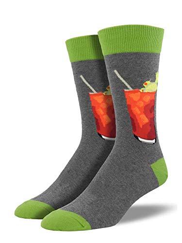 Socksmith Men's Bloody Mary Trouser Sock, Heather Grey